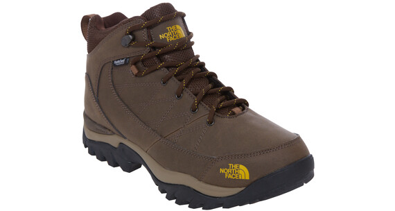 The North Face Storm Strike WP Boots Men slate grey/leopard yellow